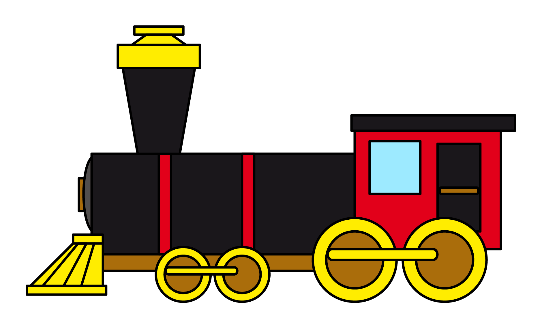 Free Train Clipart Pictures.