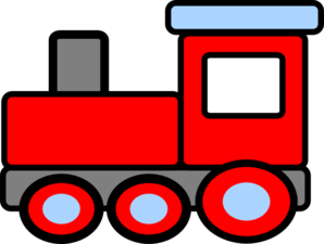 Train Clip Art Vector.