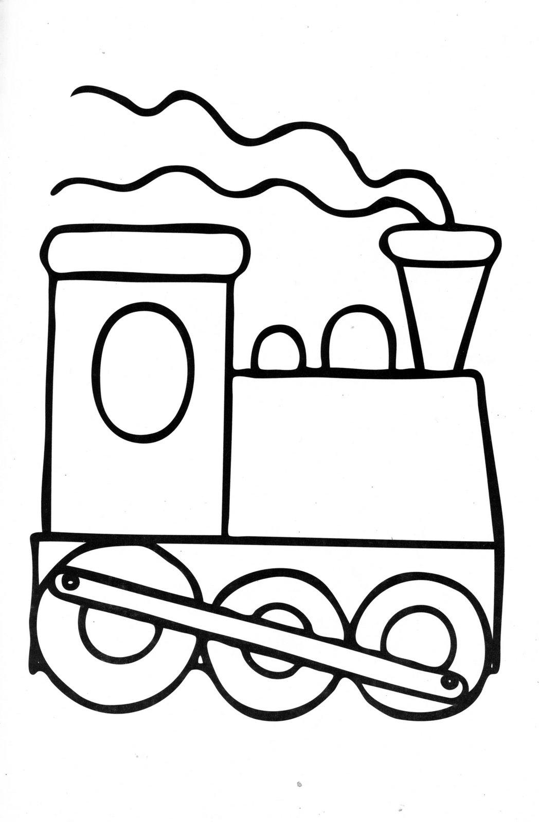 Train Line Drawing.