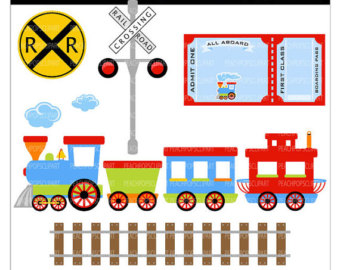 Train Clipart Free Download.