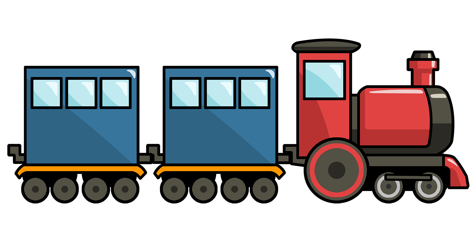 86+ Train Clipart.