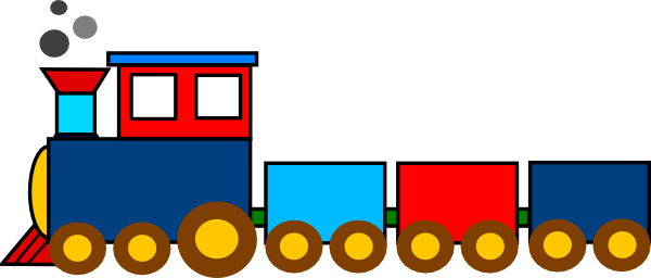 Train Clipart For Kids.