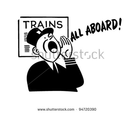 Train Conductor Stock Images, Royalty.