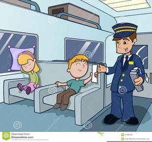 Free Clipart Train Conductor.