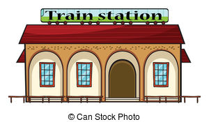 Train station Illustrations and Clip Art. 6,103 Train station.