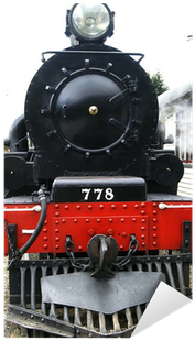 Download Front View Of A Historic Steam Train.