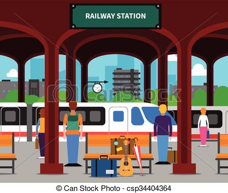 Railway station Illustrations and Clipart. 4,780 Railway station.