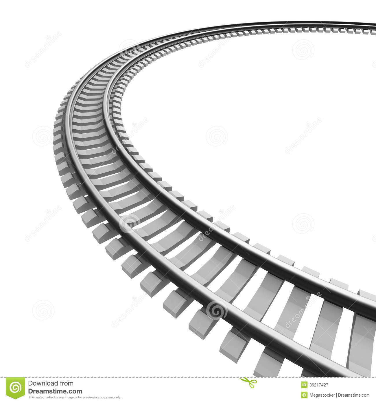 Railway track hd clipart.