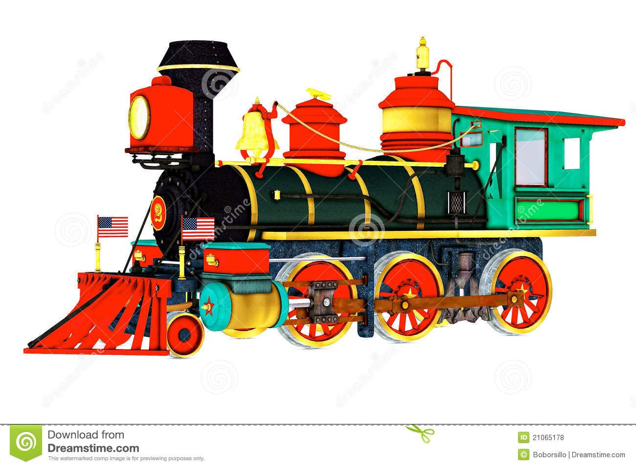Steam Engine Trains Clipart.