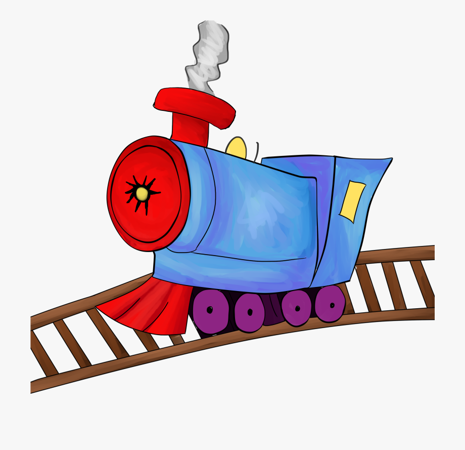 Clipart Of Track, Train And Rail, Cliparts & Cartoons.
