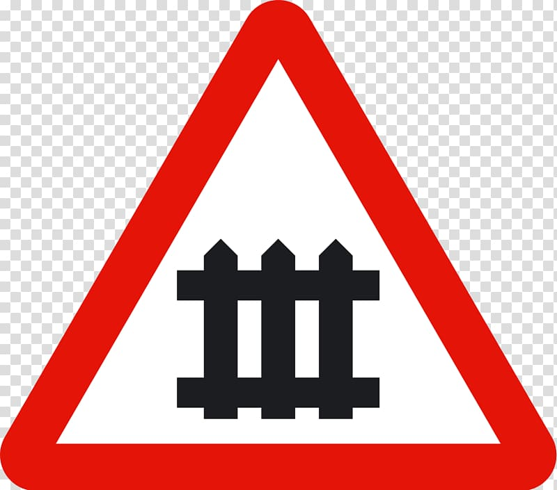 Level crossing Traffic sign Warning sign Rail transport.