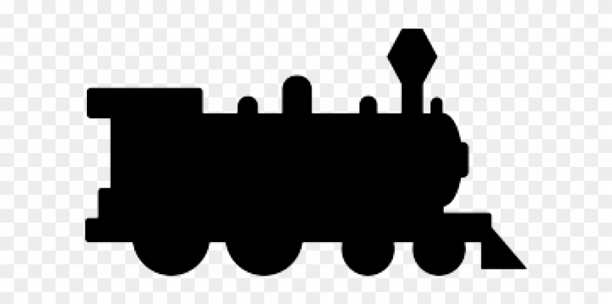 Silhouette Clipart Train.