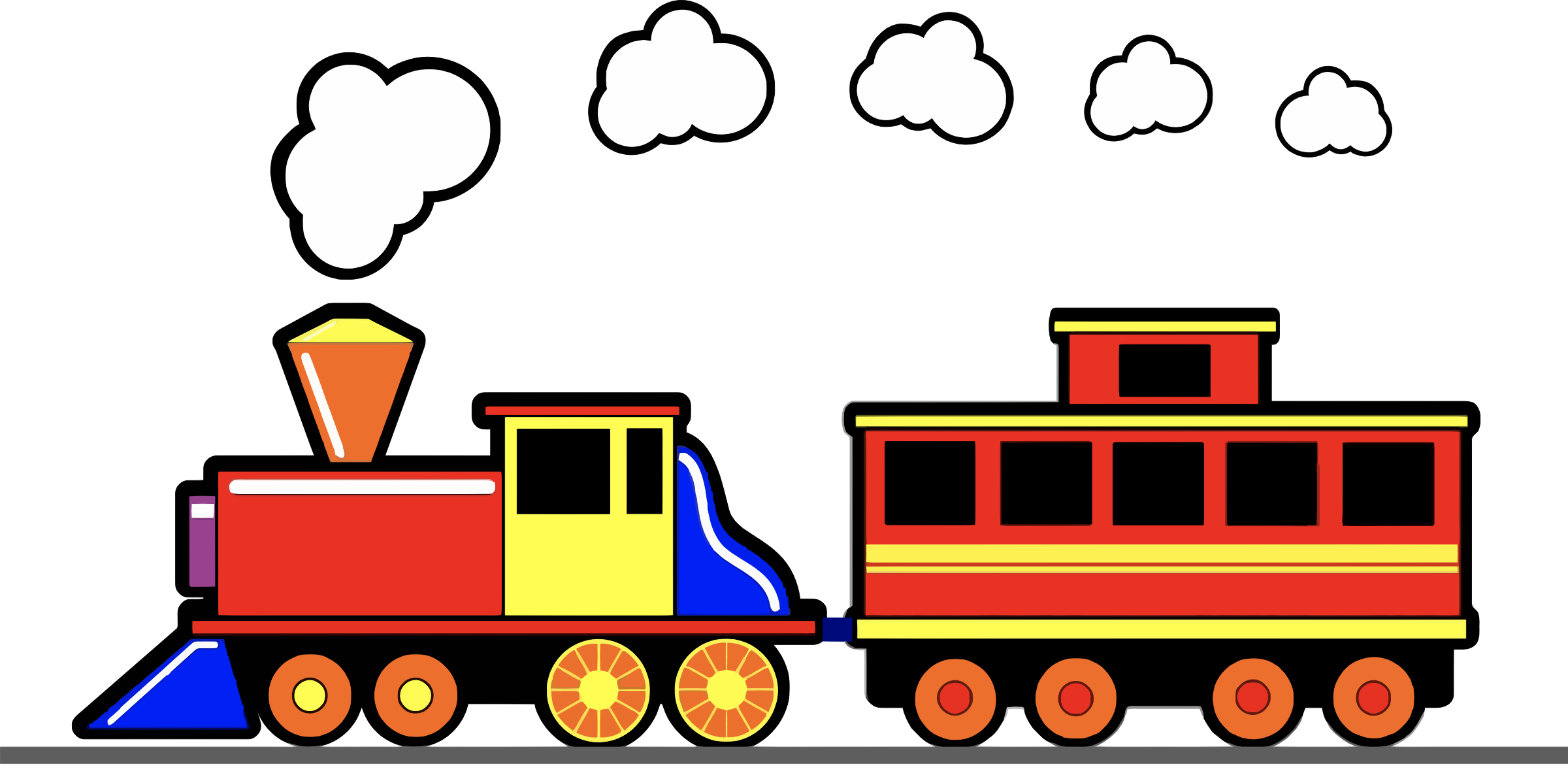 HD Toy Trains Clipart 3 Clip Art Train.