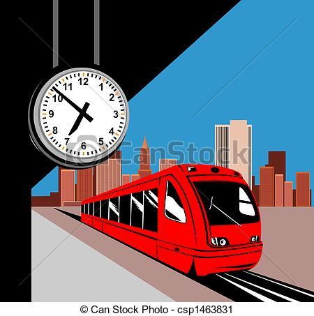 Train station clip art.