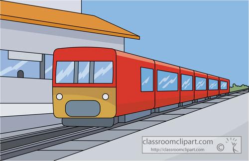 Train Station Clipart.