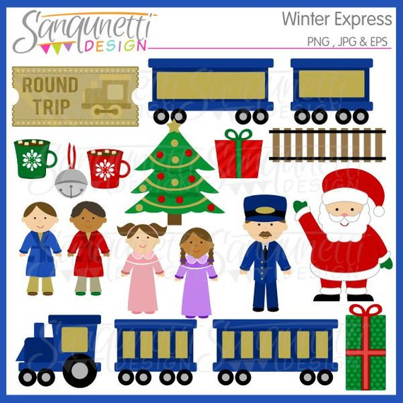 Polar express train clipart 4 » Clipart Station.