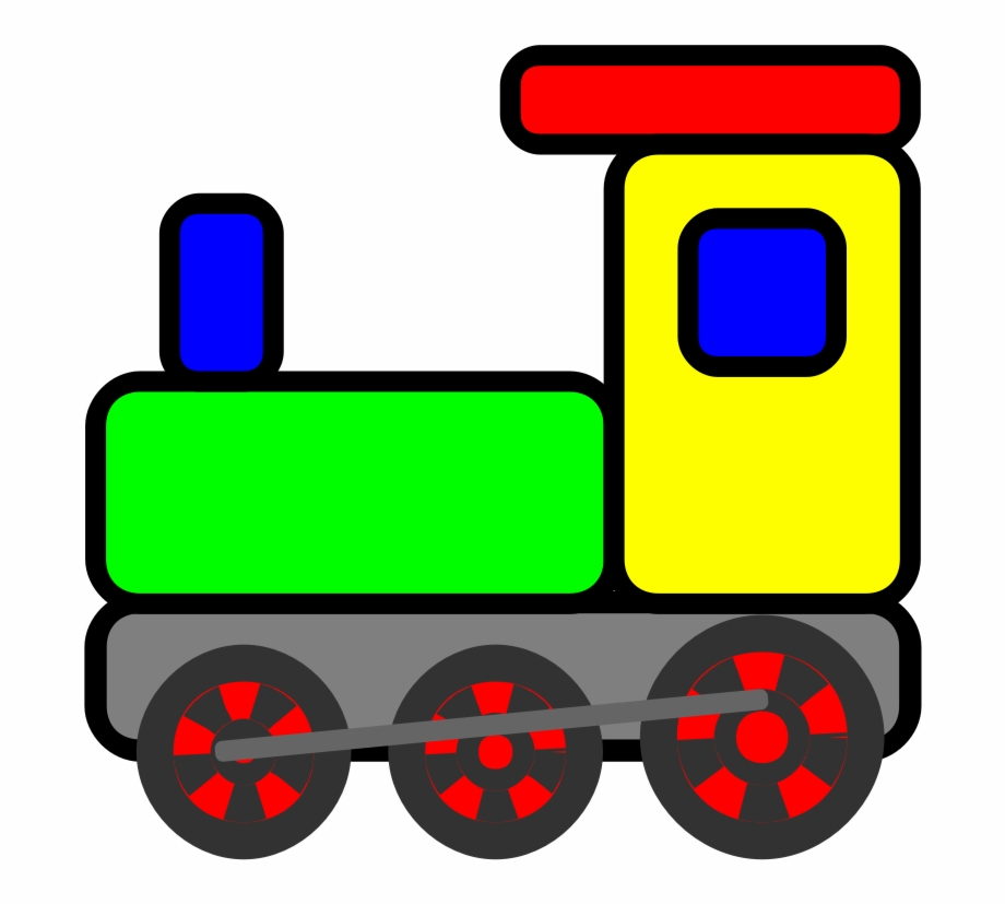 Scripted Toy Train.