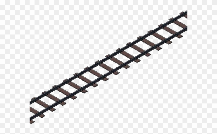 Railroad Tracks Clipart.