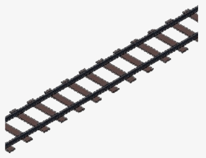 Free Train Track Clip Art with No Background.
