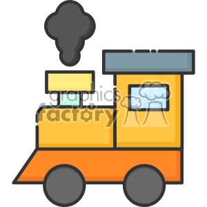 Train vector clip art images clipart. Royalty.