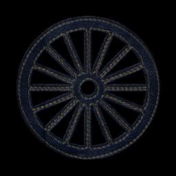 Train Car Wheels Clipart.