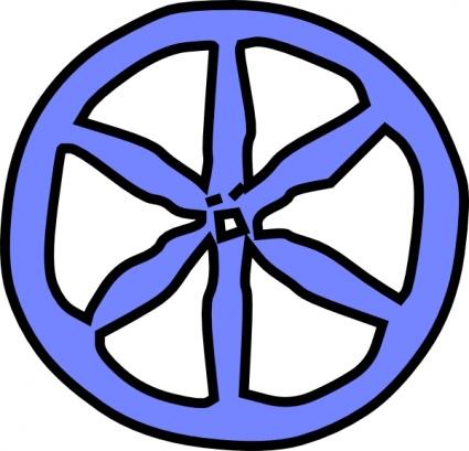 Clip art wheels.