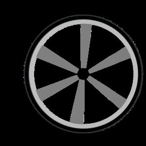 Blue Wheel Clipart.