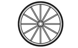 Showing post & media for Cartoon train wheel clip art.