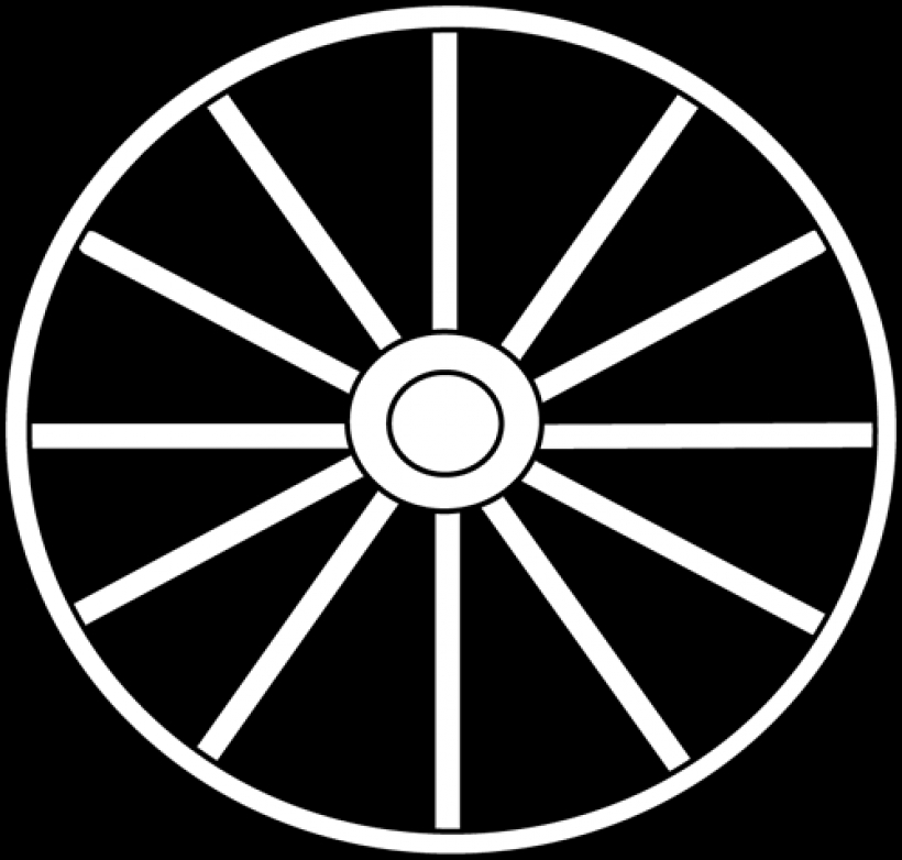 wheel clipart black and white clipart panda free clipart images.