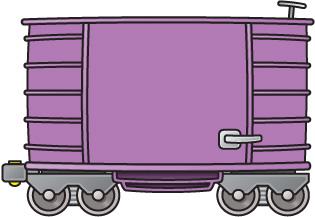 Train Cart Clipart.