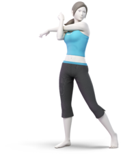 Wii Fit Trainer.