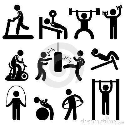 Workout Clipart & Workout Clip Art Images.