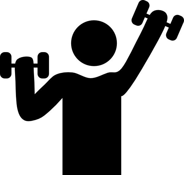 Exercising Training Clipart.