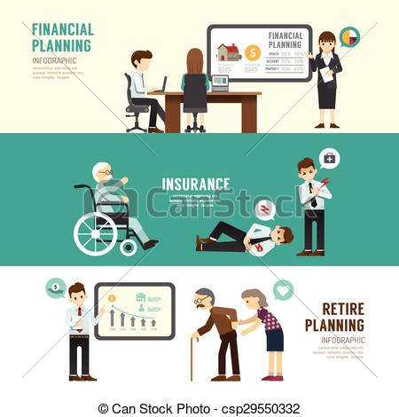 Vectors of Business design planning concept people set.