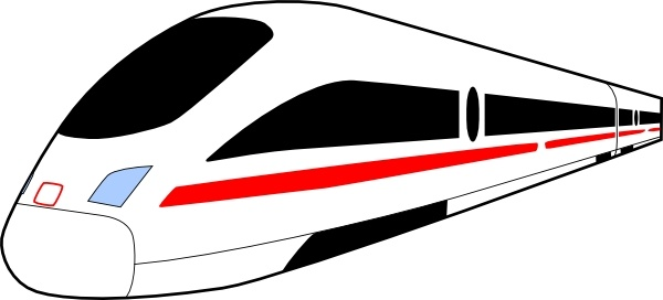 Train clip art Free vector in Open office drawing svg ( .svg.