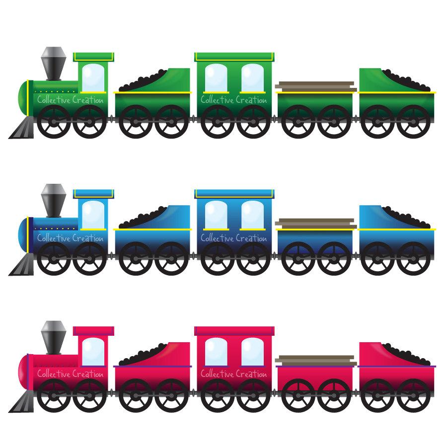 Trains Clipart.