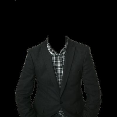 Traje de Hombre PNG transparente.