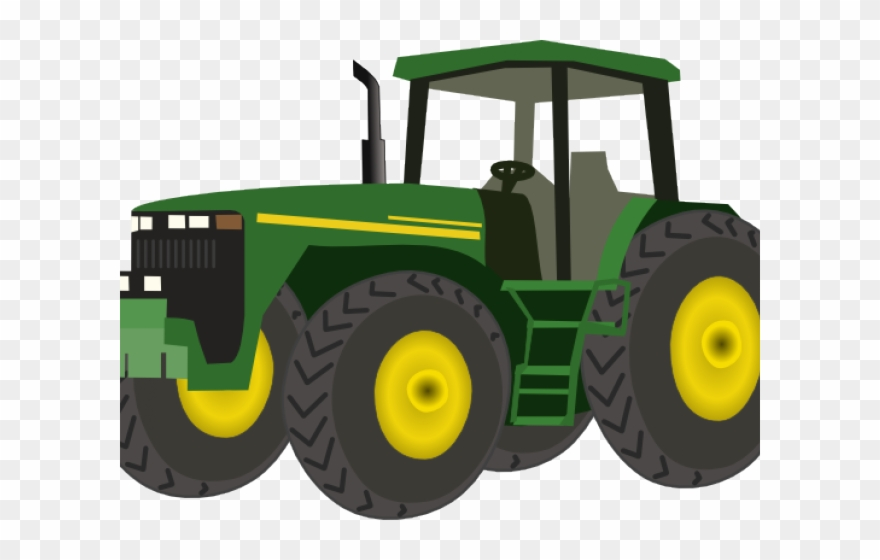 John Deere Clipart Farm Machinery.