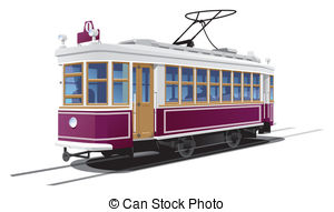 Tram car Illustrations and Clip Art. 2,272 Tram car royalty free.