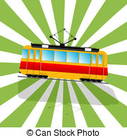 Tramcar Illustrations and Clip Art. 224 Tramcar royalty free.