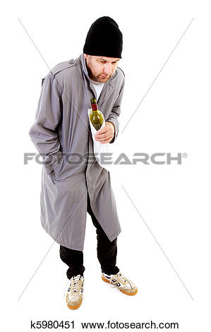 Stock Photography of male homeless tramp k5980451.