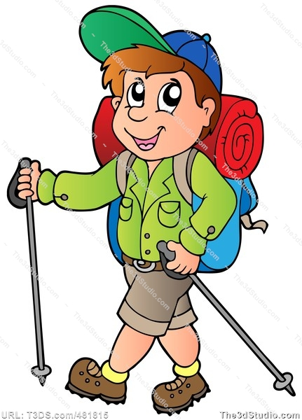 Tramping clipart #4