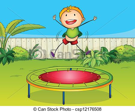 Trampolines Clipart Vector and Illustration. 571 Trampolines clip.