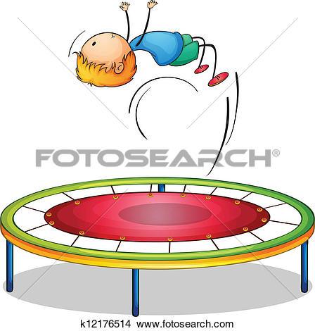 Trampoline Clip Art and Illustration. 493 trampoline clipart.