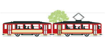 Tramway Stock Illustrations.