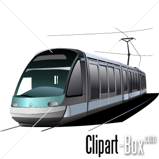 CLIPART TRAMWAY.
