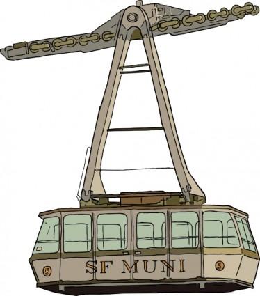Tramway Clip Art Download.