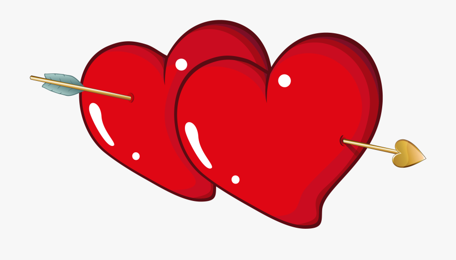 Heart Valentine\'s Day Clip Art.