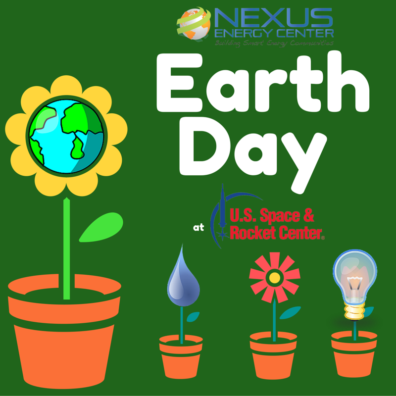 Earth Day at the U.S. Space & Rocket Center.