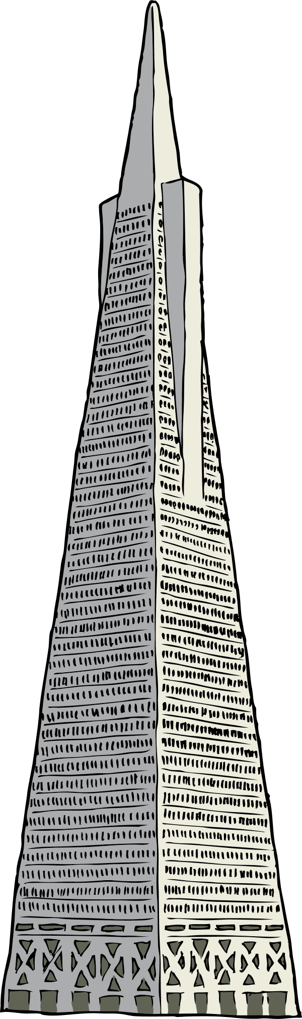 Transamerica Building Drawing Related Keywords & Suggestions.